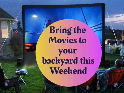 Backyard Movie Fun