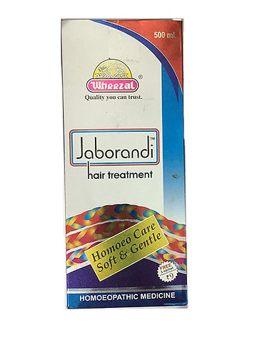 Wheezal Jaborandi Hair Treatment (500 ml Oil in bottle)