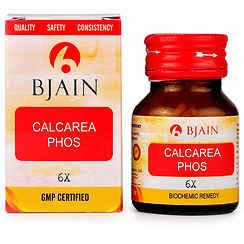 Bjain Calcarea Phosphorica Biochemic Tablet 6X Pack of 4