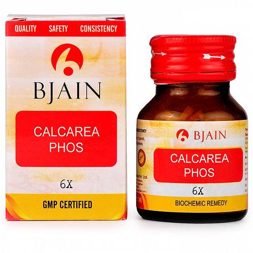 Bjain Calcarea Phosphorica Biochemic Tablet 6X Pack of 2