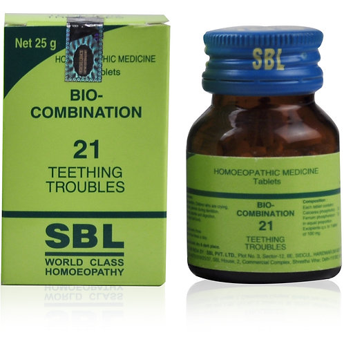 SBL Bio-Combination 21 Tablet Pack of 4