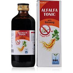 SBL Alfalfa Tonic With Ginseng Sugar Free Pack of 3