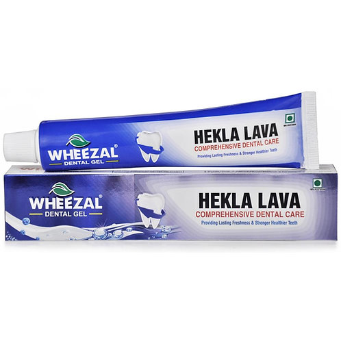 Wheezal Hekla Lava Dental Dental Gel (100 gm Dental Gel in tube) Pack of 6