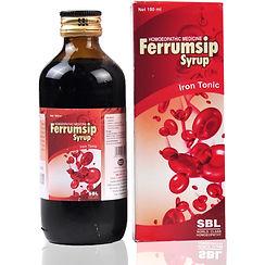 SBL Ferrumsip Syrup Pack of 3