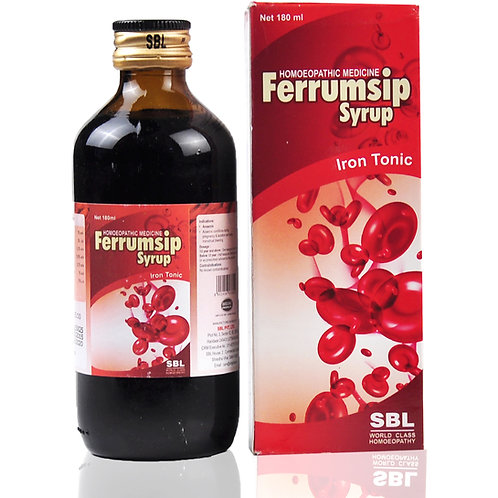 SBL Ferrumsip Syrup Pack of 3