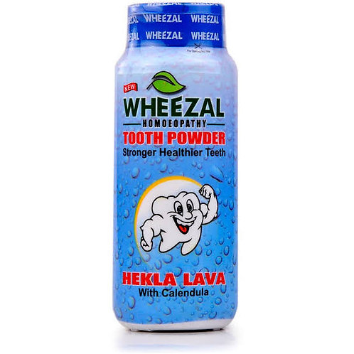 Wheezal Hekla Lava Tooth Powder (100 gm) Pack of 4