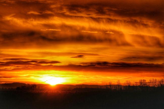 winter sunrise...