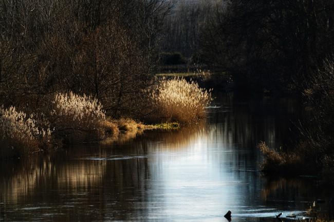 calm river...