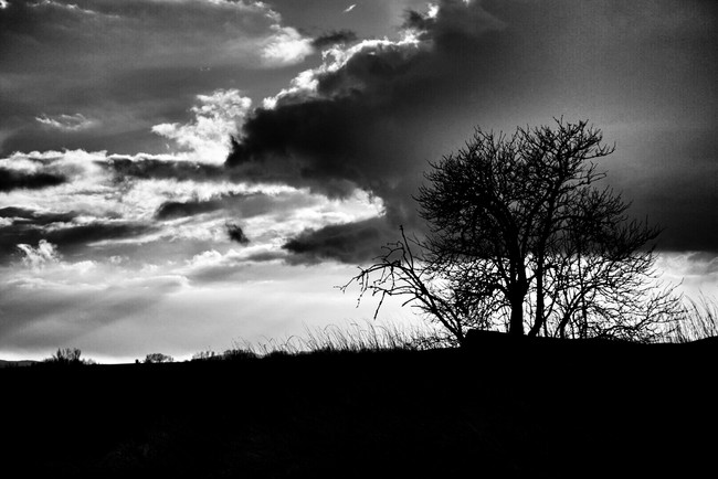 clouds and shadows...