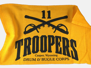 Get your free Troopers Rally Towel and Alumni Car Window Decal