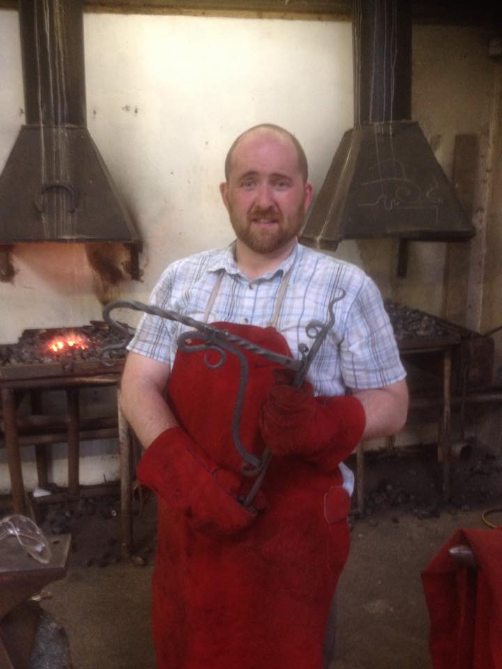 After a hard weekend blacksmithing