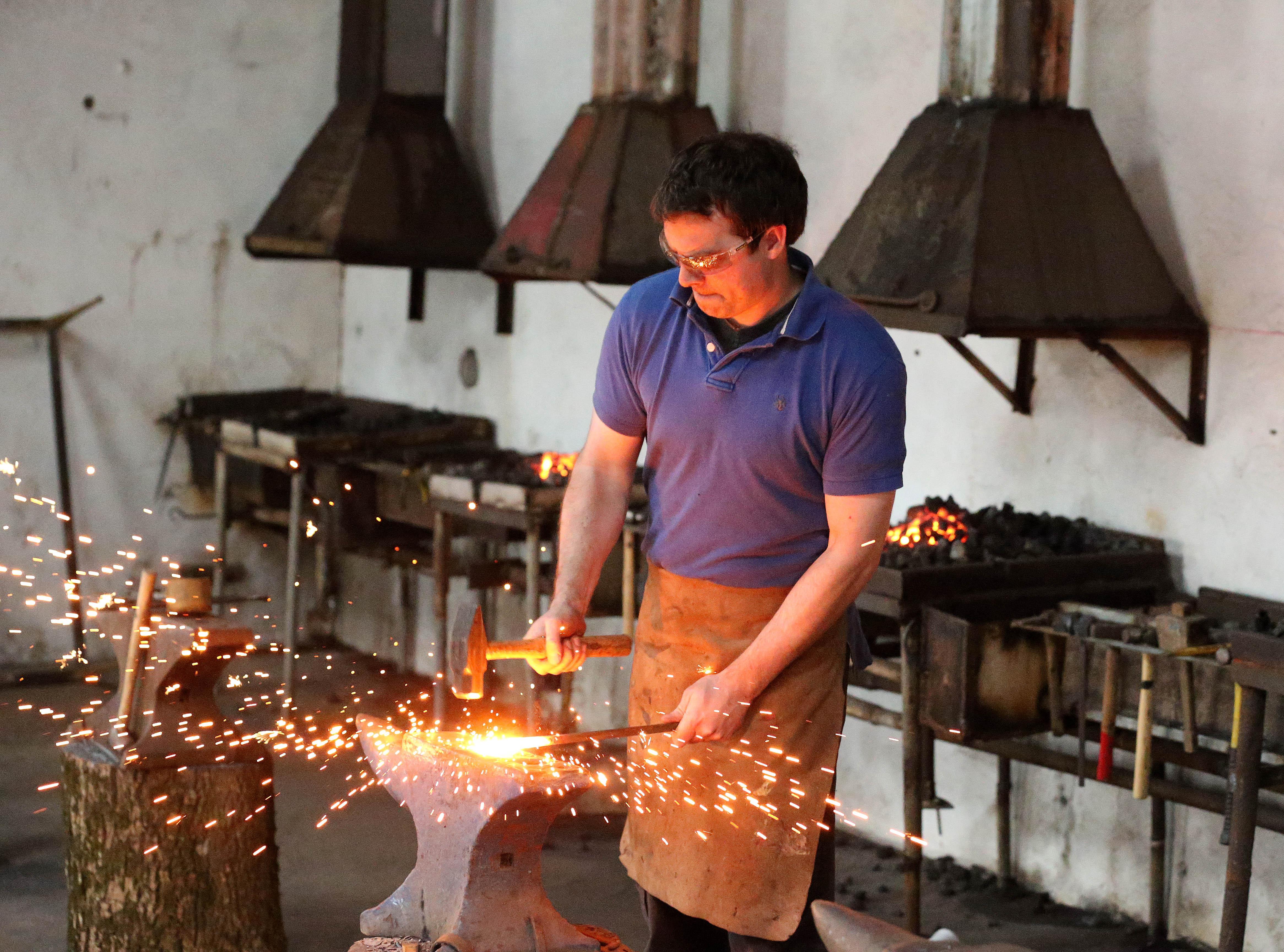 Private Blacksmithing Demo