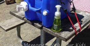 Camping Hand Washing Station