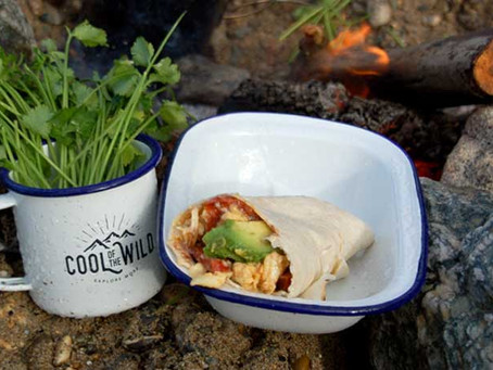 Easy Peasy Camping Breakfast Burritos Recipe