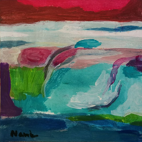 * Abstract paysage