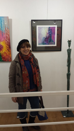 At Sonia Monti gallery, 2019