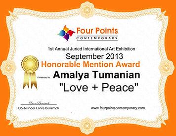 Amalya Award_FoutPoitsContemporaryGaller