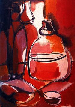 Red still life