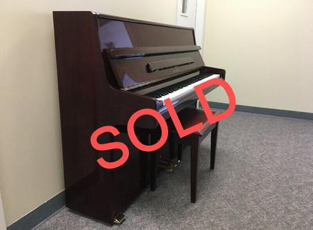 Piano SOLD - Samick SU-110