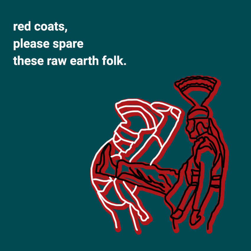 """""""red coats"""", spring 2018"""