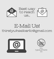Best way to reach us... E-mail us!