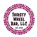 Wine Cork Logo for Thirsty Wheel Bar, LLC