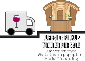 Curbside Pickup Trailer For Sale Curbside Pickup Trailer For Sale Air Conditioned Safer than a popup tent Social Distancing