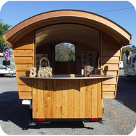 Vending Side of trailer