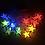 гирлянда звездочки разноцветные