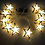 гирлянда звезды от батареек  жёлтые
