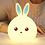 ночник заяц силикооновый