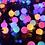 Thumbnail: Гирлянда с маленькими матовыми шариками