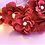 Thumbnail: Гирлянда с бордовыми цветочками