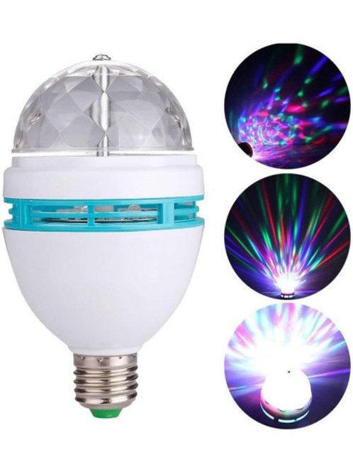 Светодиодная вращающаяся диско-лампа