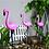 "Thumbnail: Садовый светильник ""Фламинго"" на солнечной батарее"