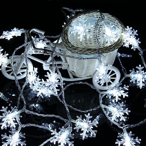 Гирлянда Снежинки