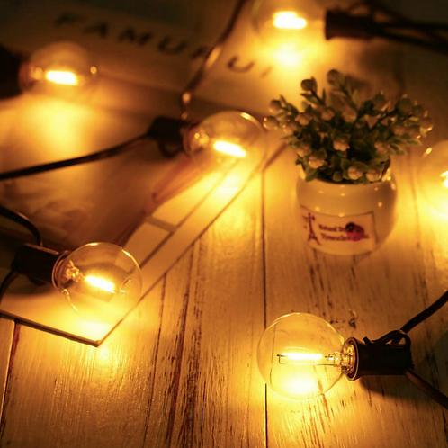 Ретро-гирлянда со светодиодными лампочками