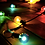 Thumbnail: Ретро-гирлянда разноцветная 7,65м