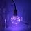 Thumbnail: Лампочка со светящейся нитью синяя