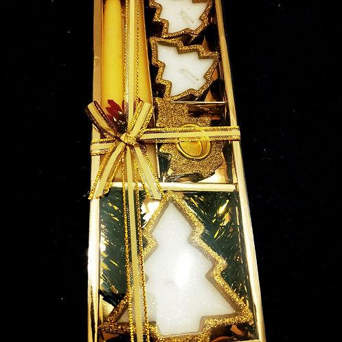 Набор новогодних свечей