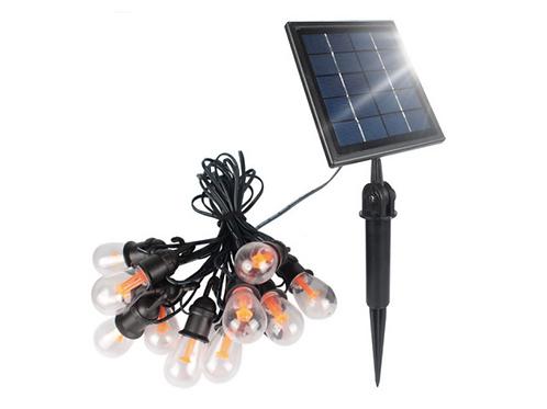 Ретро-гирлянда на солнечной батарее
