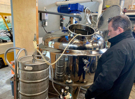 Volusia Co. distiller jumps into COVID-19 fight, switches beer for hand sanitizer