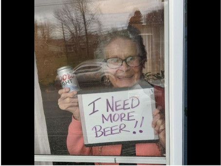 'Got more beer!': 93-year-old Pennsylvania woman receives quarantine gift from Molson Coors