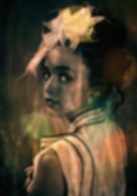 photograph young girl vintage