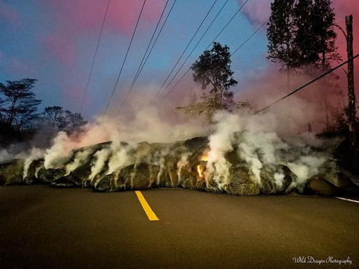 Problemos rojuje -  atominė bomba, ugnikalnio išsiveržimas ir penktos kategorijos uraganas. Havajai