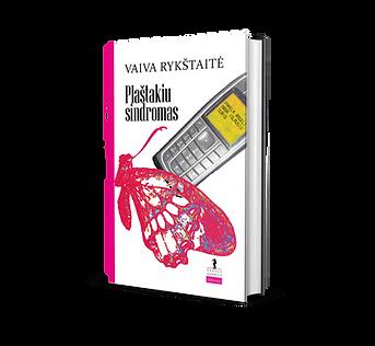 Knyga Plaštakių sindromas Vaiva Rykštaitė 2009 m.