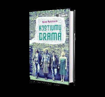 Knyga Kostiumų drama, Vaiva Rykštaitė 2013 m.