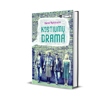 Knyga Kostiumų drama Vaiva Rykštaitė