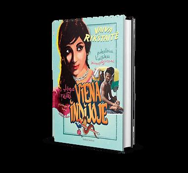 Knyga Viena Indijoje Vaiva Rykštaitė