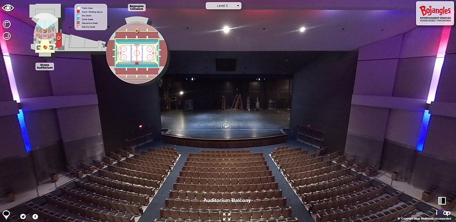 A live example of a Theater's Virtual Tour